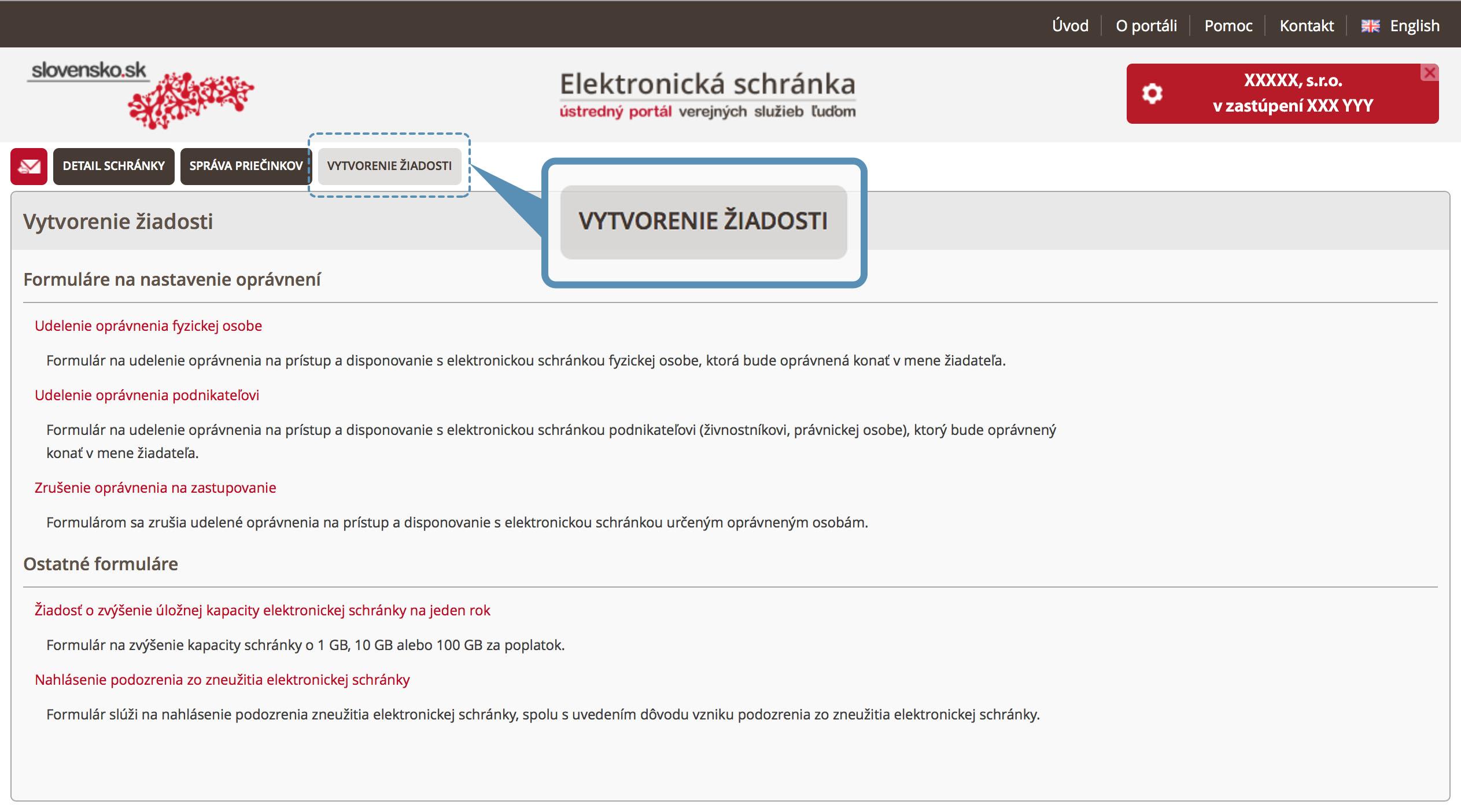Štatutári | Electronic authorization